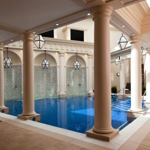 Eva Wiseman Dives Into Hydrotherapy 'Freedom' at The Gainsborough Spa, Bath, UK