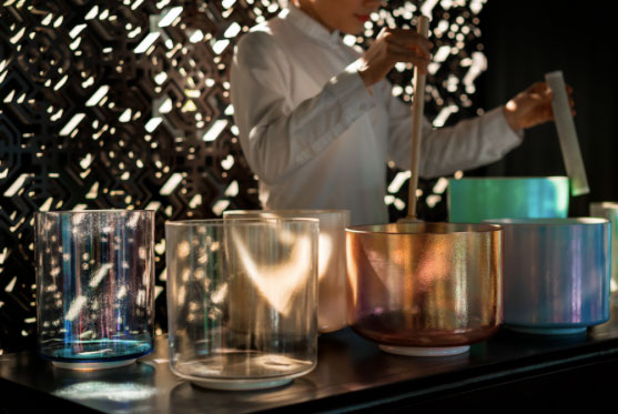 Four Seasons Raises The Vibration In Bali With Crystal Bowl Therapy