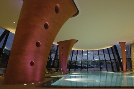 Jo Foley checks out the salt water grottos and stress busting programmes at Hotel Kronenhof