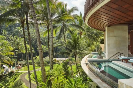 Bali's Sacred River Spa at what Travel & Leisure declares the best hotel in the world