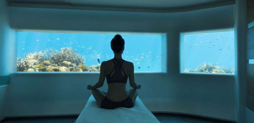 A-list Skin Expert Teresa Tarmey Takes Residency At The Worlds First Underwater Five Star Spa.