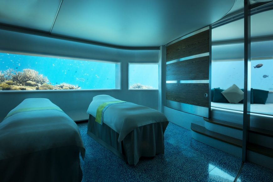 Beata Alekandrowicz launches the 'Underwater Dream' Signature Massage at Huvafen Fushi