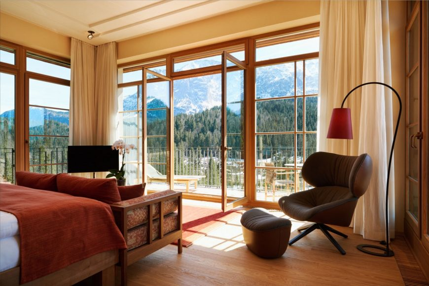 Schloss Elmau - Leo Bear Checks In To The Swish Family-Friendly Wellness Retreat