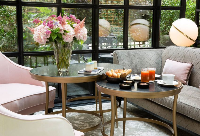 For An Elegant Weekend In Paris: The Narcisse Blanc Hotel & Spa