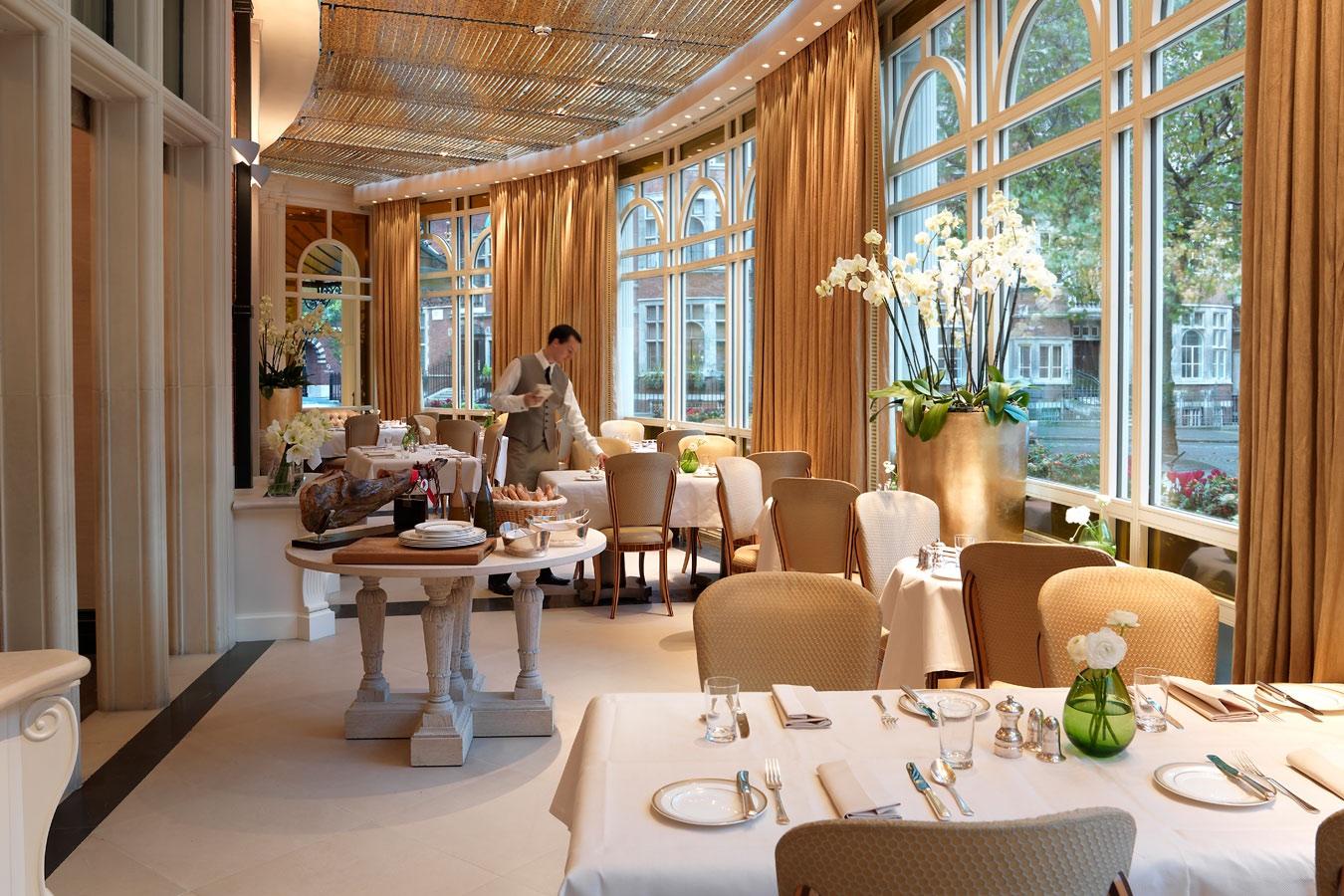 Connaught Hotel Mayfair Restaurant Menu